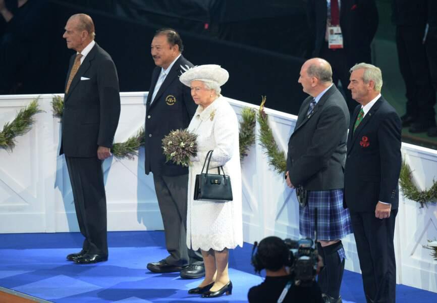Elisabeth II aux Commonwealth Games 2014