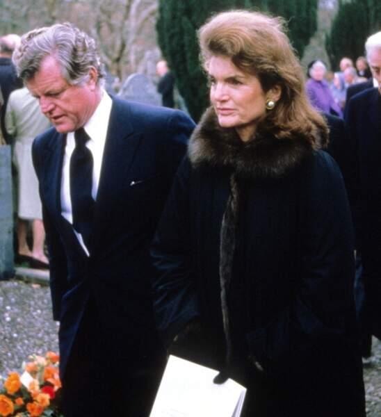 1995, aux funérailles de Lord Harlech