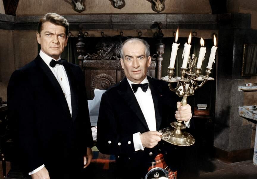 Fantomas contre Scotland Yard d'André Hunebelle (1966). Avec Jean Marais. D'après le roman de Marcel Allain