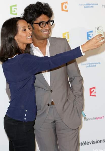 Sophia Aram et Sébastien Folin