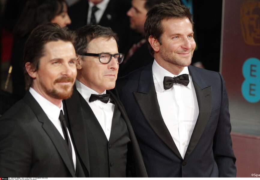 Bradley Cooper, Christian Bale et David O. Russell