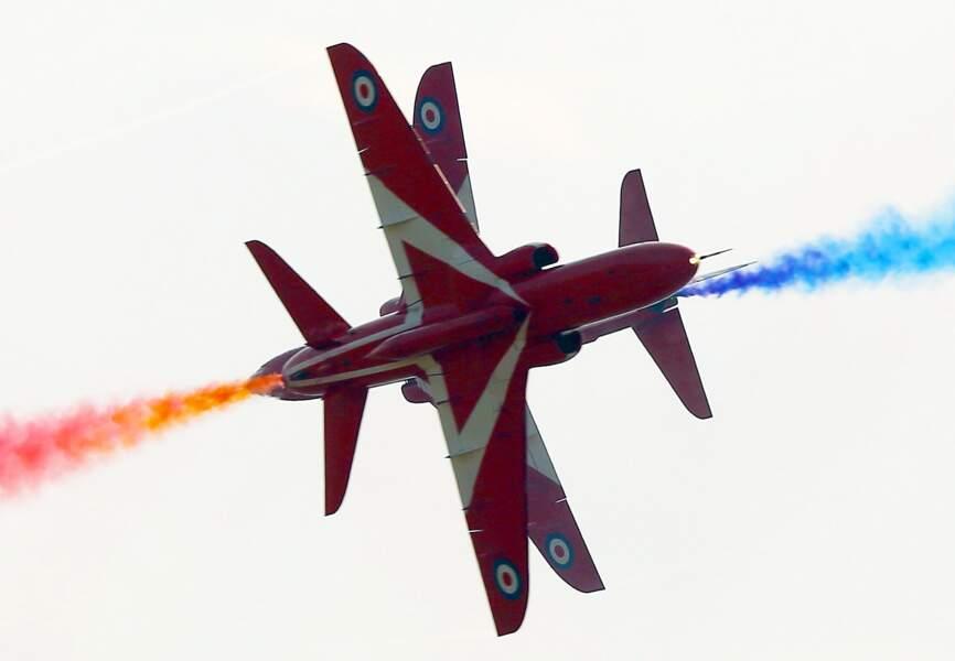 Les RAF Red Arrows - Patrouille de la Royal Air Force