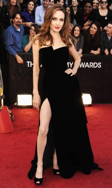 Oscars 2012 en Atelier Versace, la robe de toutes les polémiques