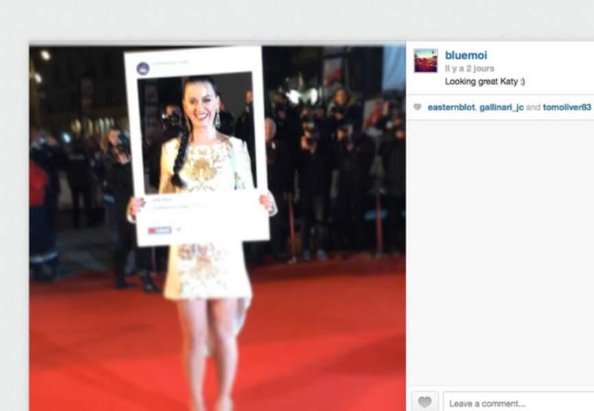 Katy Perry très présente sur les réseaux sociaux