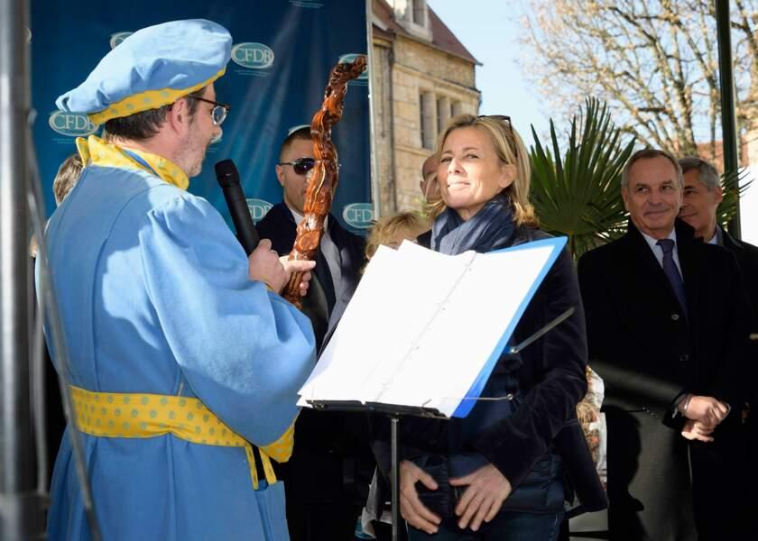 Claire Chazal à la 155e vente aux encheres des vins des Hospices de Beaune
