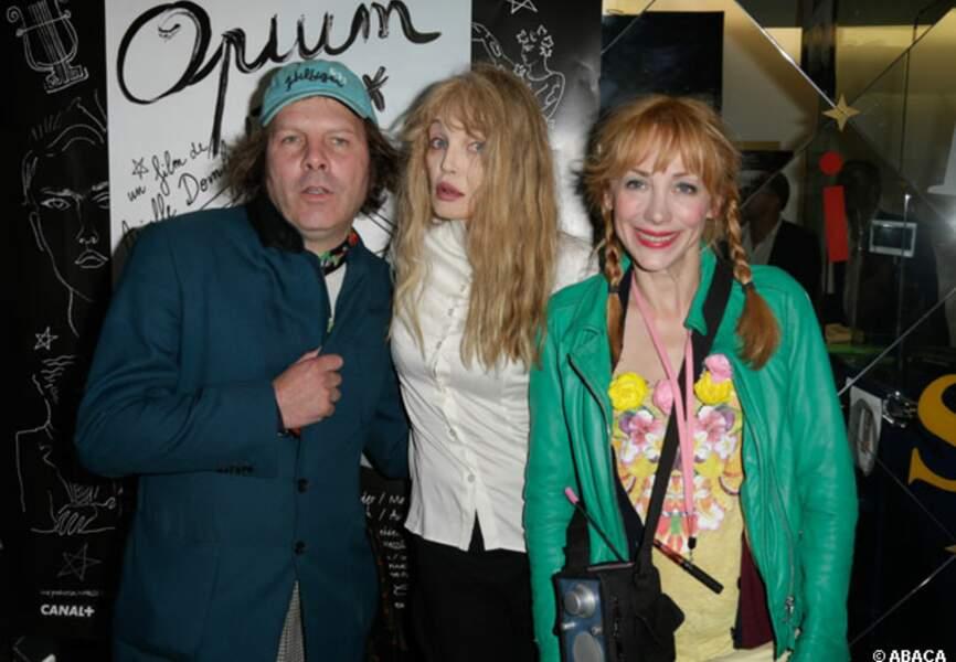 Philippe Katerine, Arielle Dombasle, Julie Depardieu