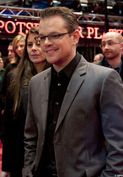 Matt Damon est à Berlin pour Monuments Men