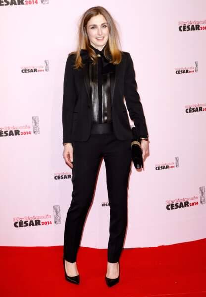 Julie Gayet aux César en 2014