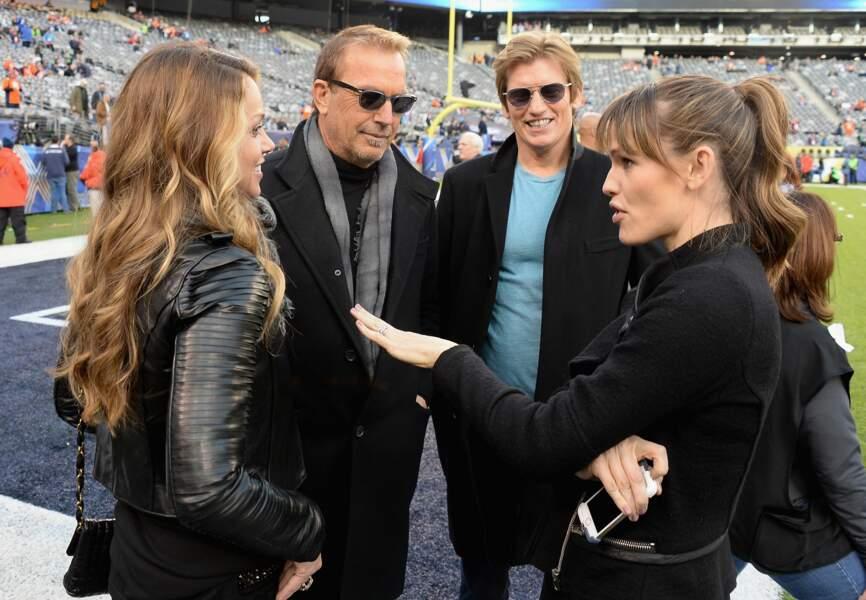 Jennifer Garner donne ses pronostics à Kevin Costner