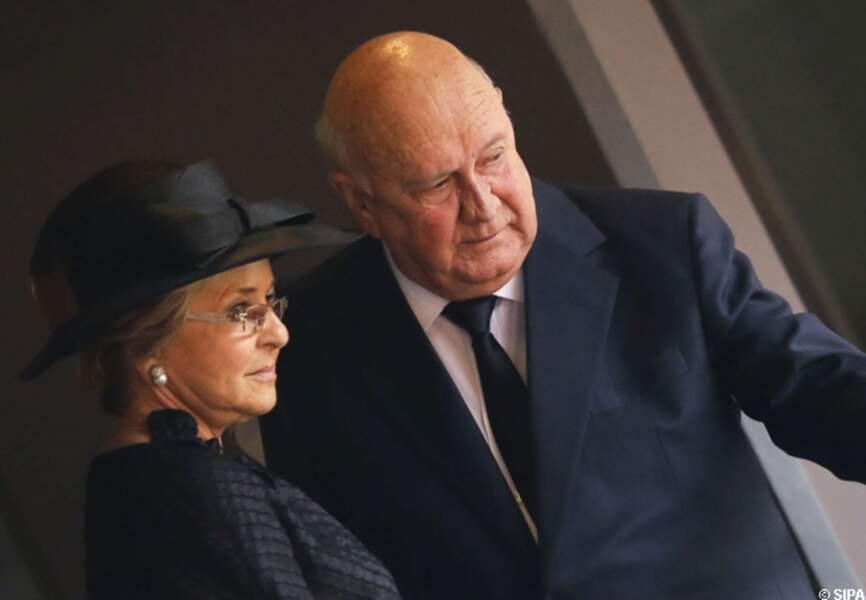 Frédérick de Klerk et son épouse