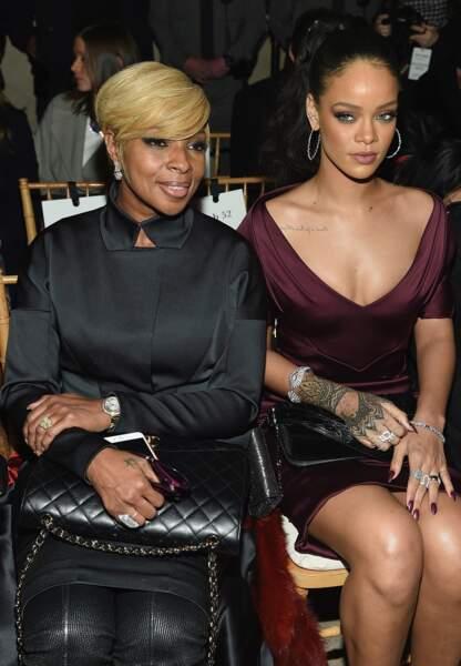 Mary J. Blige et Rihanna