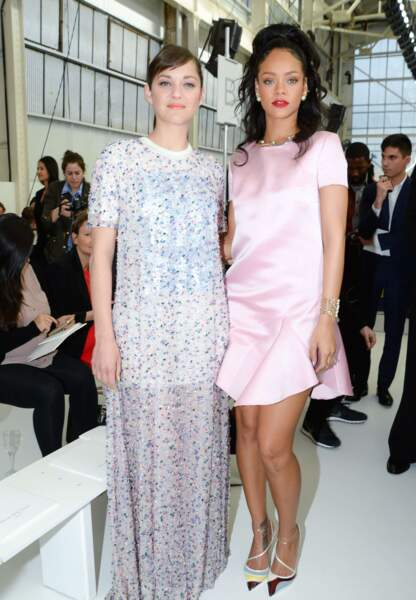 Marion Cotillard et Rihanna