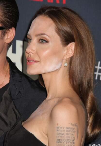 Angelina Jolie et sa faute de maquillage