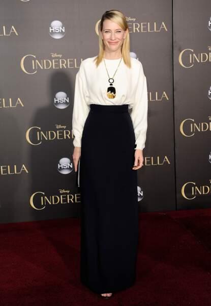 Cate Blanchett, sublime en Céline sur-mesure