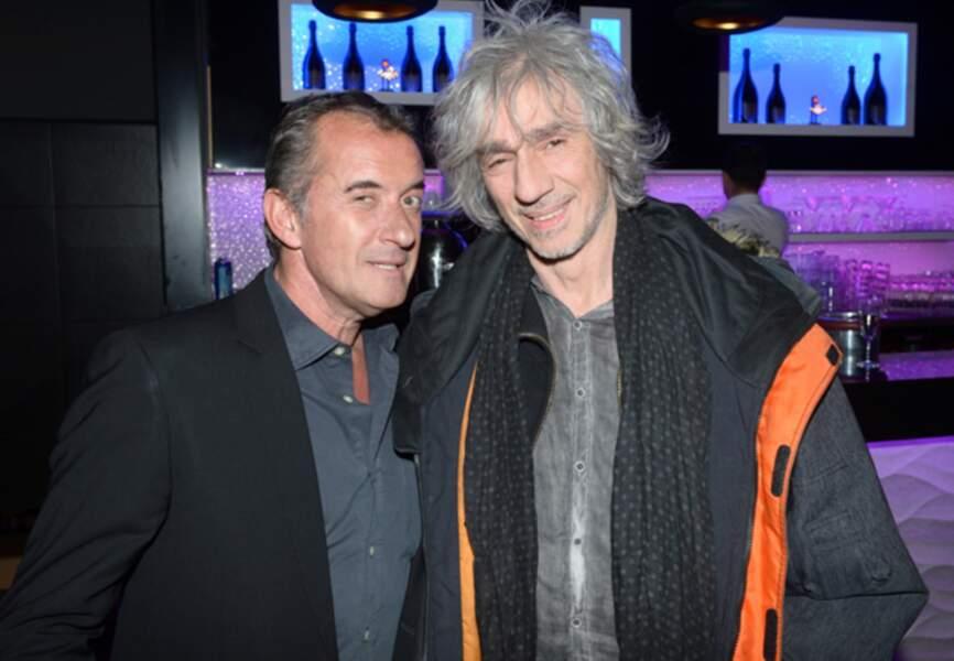 Christophe Dechavanne et Louis Bertignac