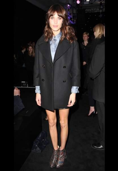 Modeuse parmi les modeuses, Alexa Chung pour Mulberry