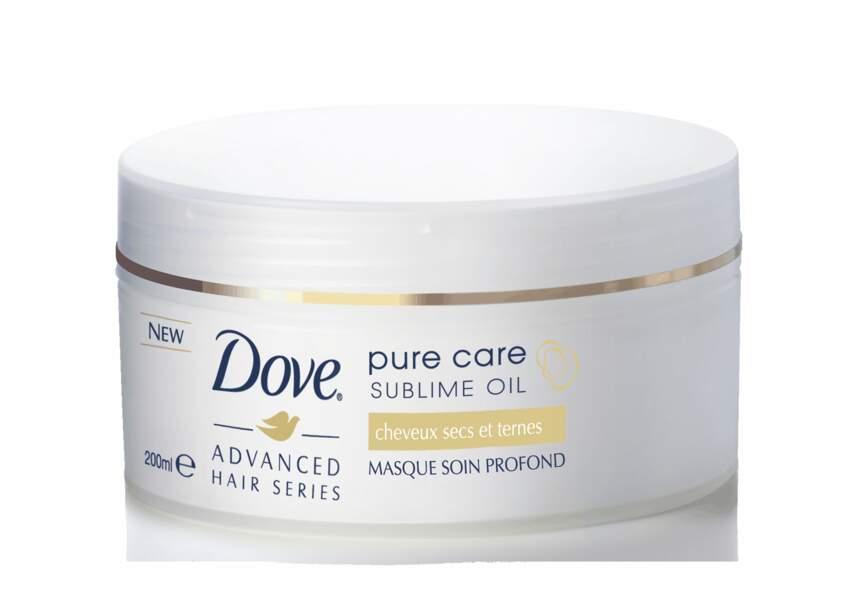 Dove, Masque soin profond Pure Care Sublime Oil, 5,80€