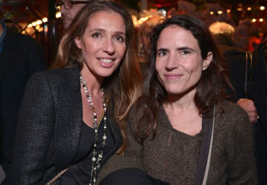 Carole Chrétienot et Mazarine Pingeot