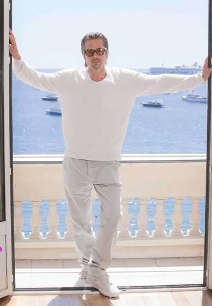 Brad Pitt au festival de Cannes de 2011