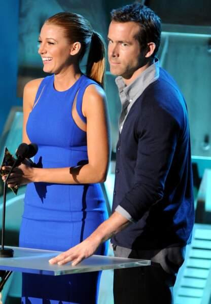 Aux MTV Movie Awards de 2011. Blake Lively en Alexander Wang