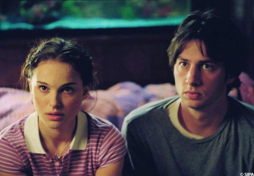 Etonnant duo, Natalie Portman et Zach Braff, dans Garden State