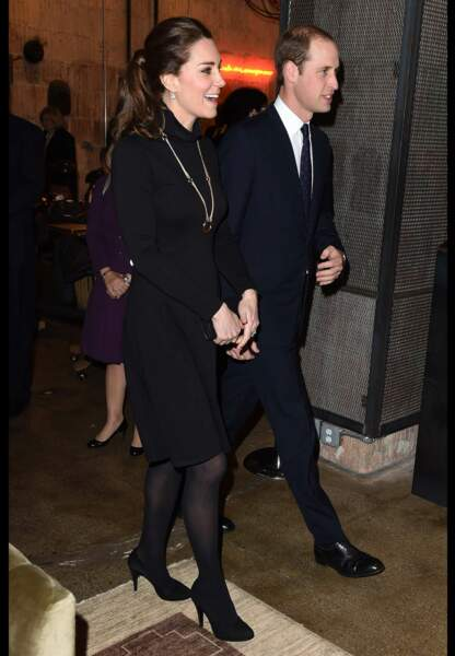 La duchesse de Cambridge fidèle à Séraphine porte à nouveau une pièce de la marque française