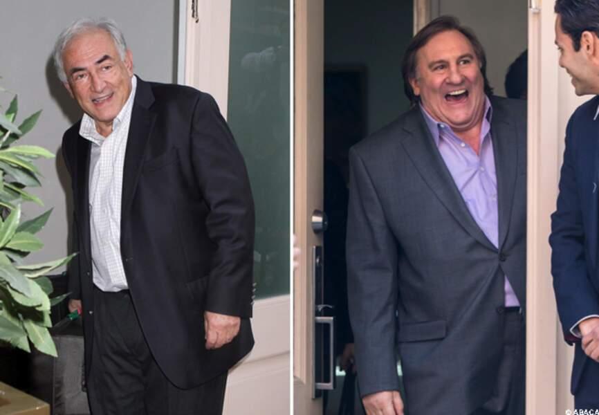 DSK / Gerard Depardieu