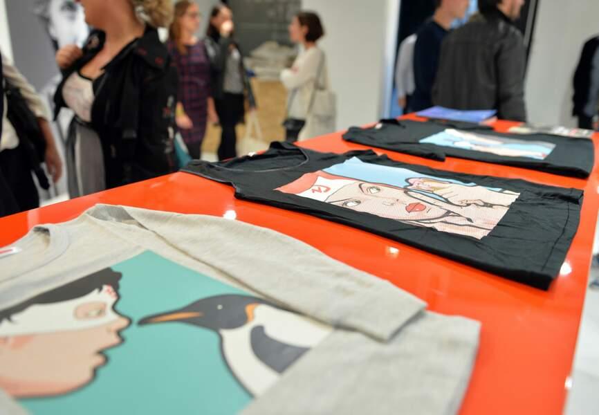 """Les tee-shirts de l'exposition """"A quel âge devient-on vieux ?"""""""