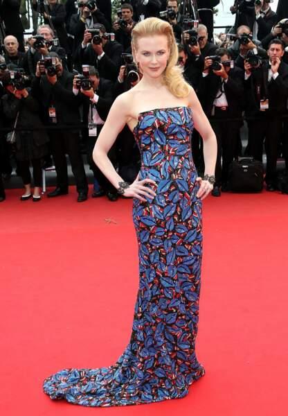 Nicole Kidman éthnique chic lors du festival de Cannes mai 2013