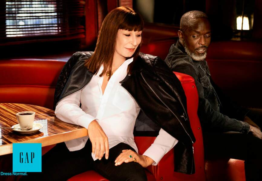 Anjelica Huston et Michael K. Williams