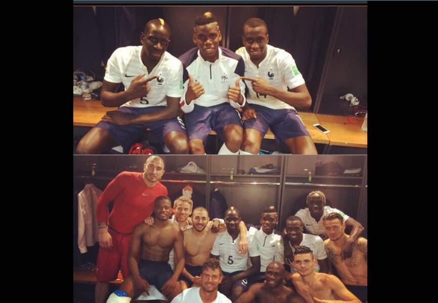 L'equipe de France