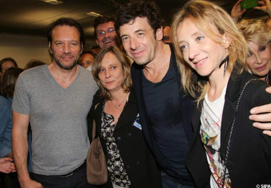 Samuel Le Bihan, une amie, Patrick Bruel, Sylvie Testud