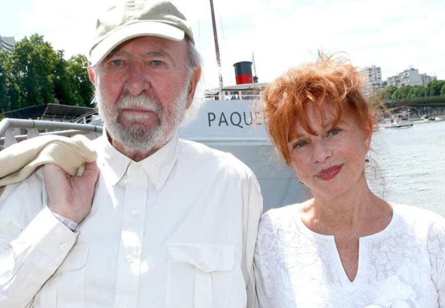 Jean-Pierre Marielle et sa femme Agathe Natanson