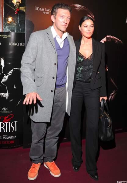 Dernière apparition ensemble lors de la première de The Artist en 2011