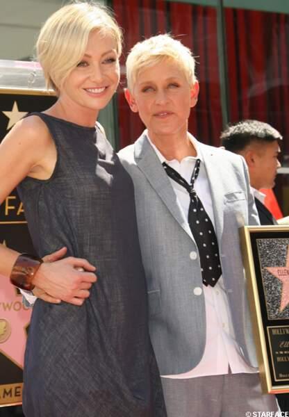 Portia de Rossi et Ellen de Generes