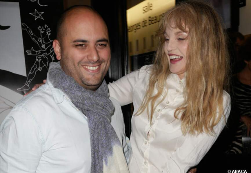 Christian Louboutin et Arielle Dombasle