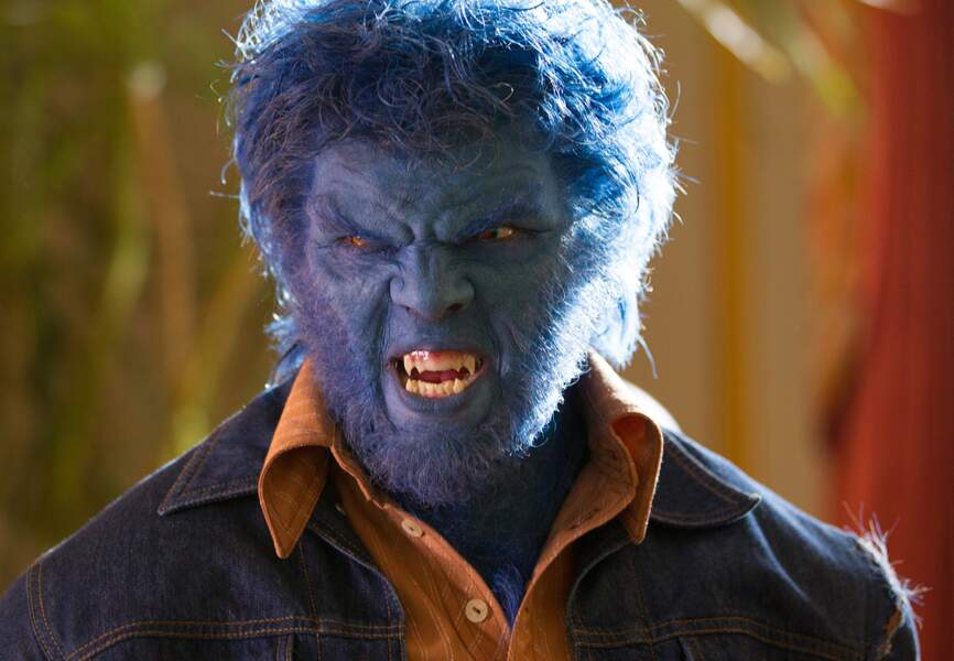 """Nicholas Hoult, jeune acteur anglais déjà apparu dans X-Men: Le commencement, incarne """"la bête"""""""