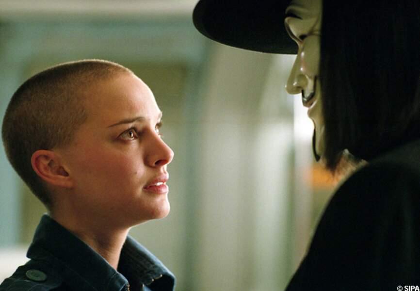 Natalie Portman s'est rasé le crâne pour son rôle dans V pour Vendetta