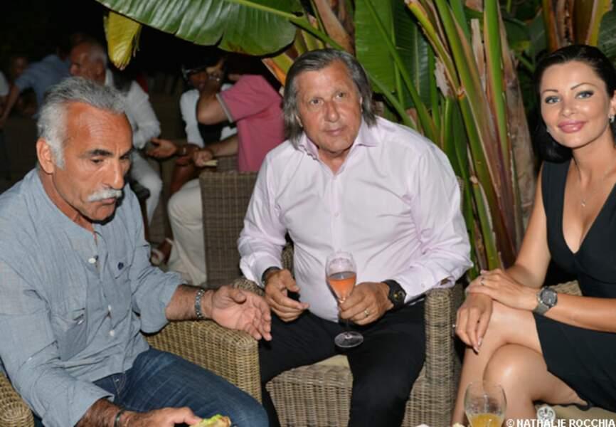 Mansour Bahrami, Ilie Nastase et sa compagne