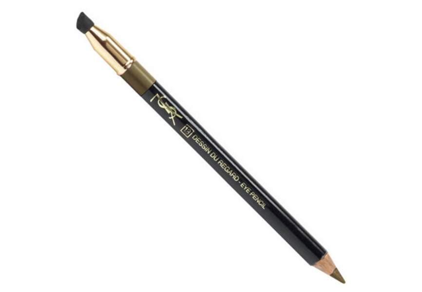 Yves Saint Laurent – Crayon haute tenue dessin du regard – 21€