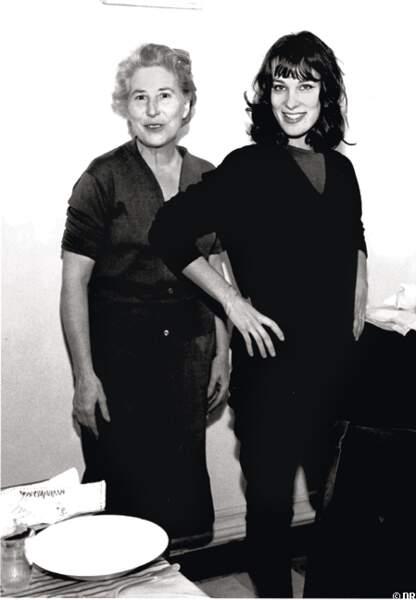 Bernadette lafont et sa grand-mère