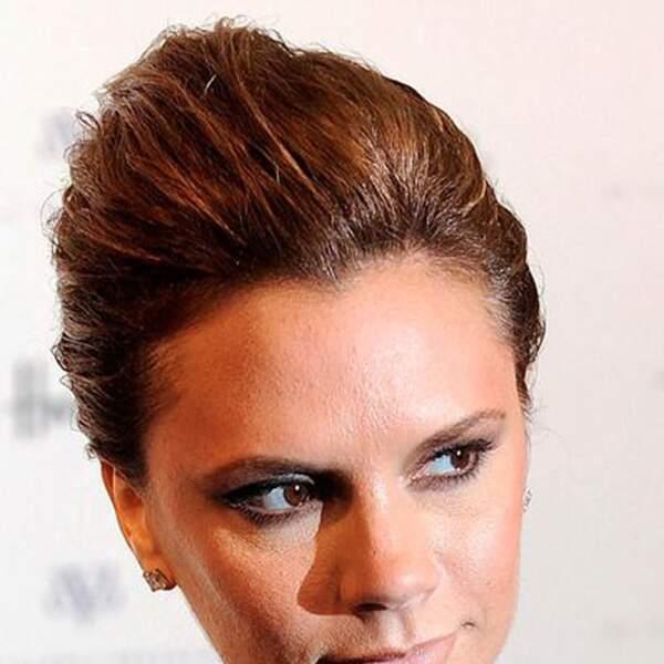 Nouveau changement, Victoria Beckham passe au chignon chic