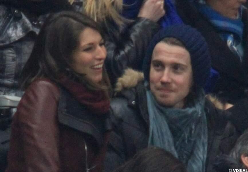 Laury Thilleman Miss France 2011 avec le chanteur Julien Doré