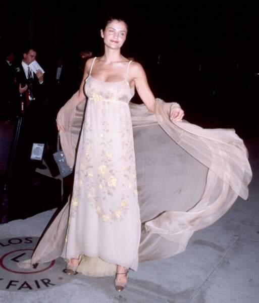 Helena Christensen en 1999