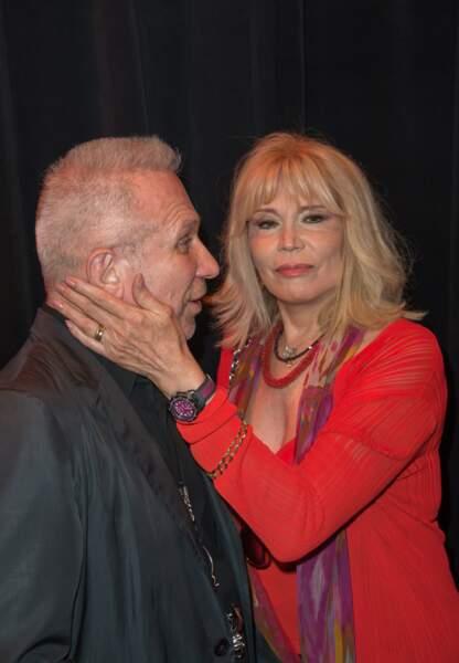 Amanda Lear et Jean-Paul Gaultier