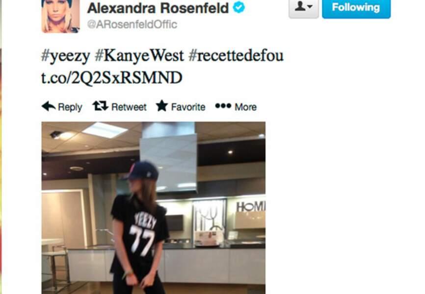 Alexandra Rosenfeld en mode streetwear
