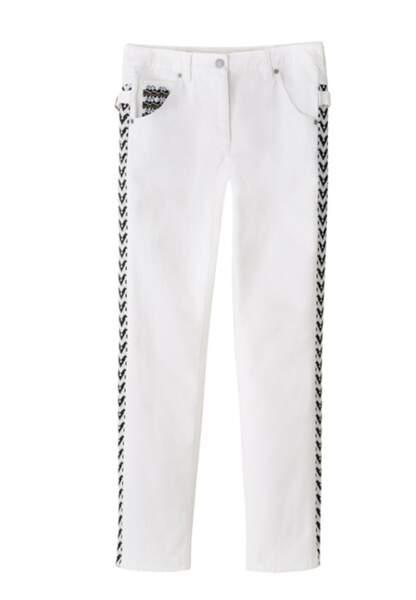 Pantalon brodé 79,95€