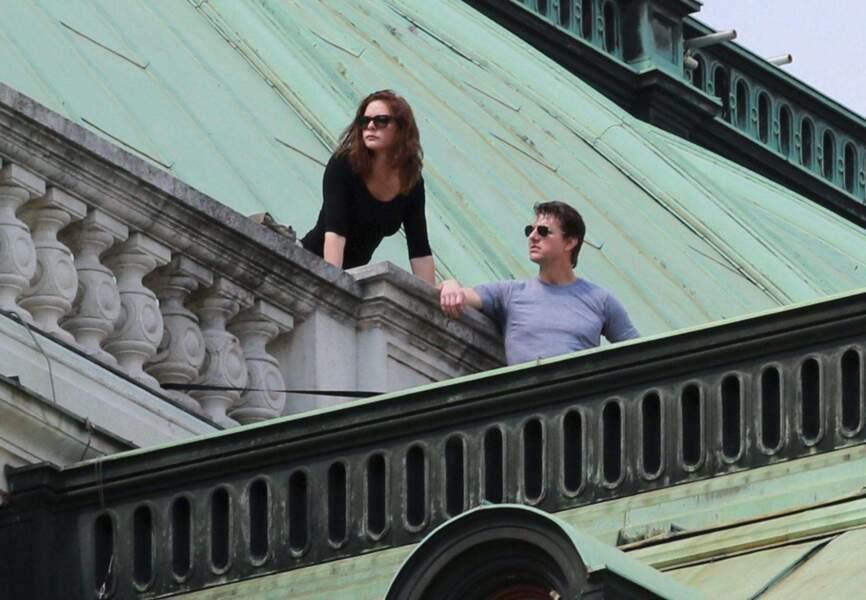 Tom Cruise sur le plateau du prochain Mission Impossible