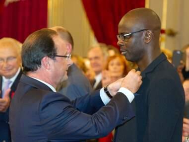 Lilian Thuram reçoit sa Légion d'Honneur