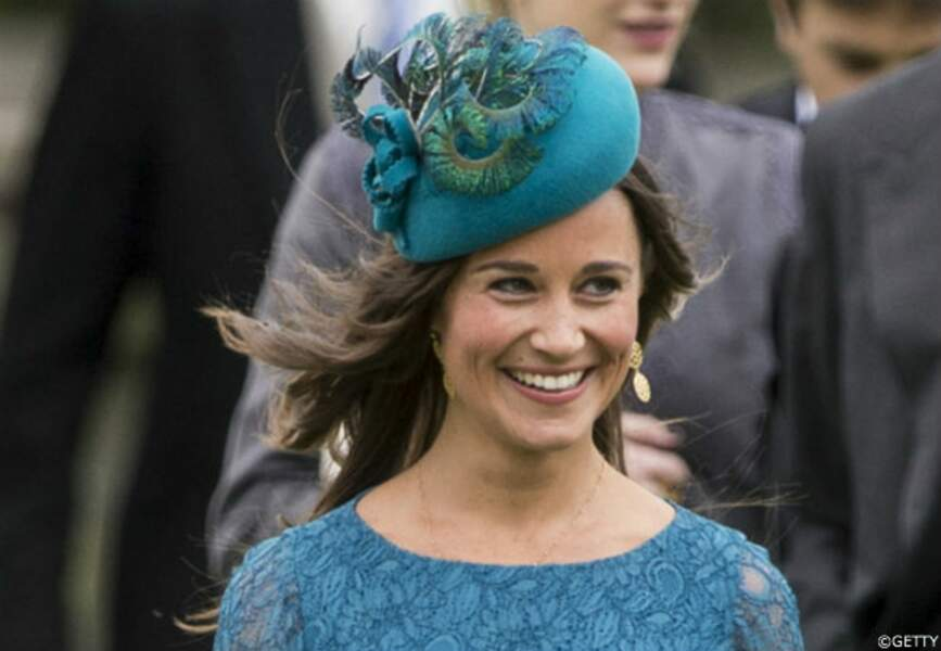 Pippa Middleton au mariage de Laura Marsham et James Meade